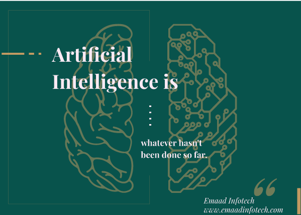 An era of Human's Artificial Intelligence